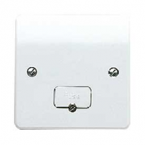MK Logic K337WHI Unswitched Fused & Flex Outlet Connection Unit