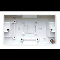 MK Logic K2172WHI Box, 2 Gang Surface