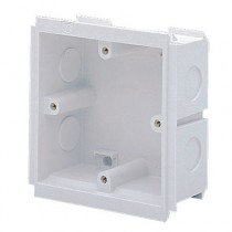 MK Electric VTS6025WHI 25MM Deep 1 Gang Outlet Box
