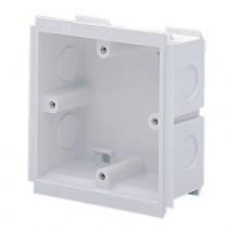 MK Electrics VTS6035WHI 35MM Deep 1 Gang Outlet Box