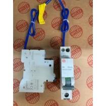Electrium NHXS1B06 RCBO, SP&N Single Module B Curve Size: 6A 30mA