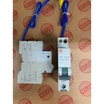 Electrium NHXS1B10 RCBO, SP&N Single Module B Curve, Size: 10A 30mA