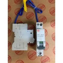 Electrium NHXS1B40 RCBO, SP&N Single Module B Curve, Size: 40A 30mA