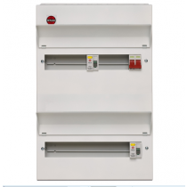 Wylex NMDRS20SSLHI High Integrity 20 Ways RCD Consumer Unit