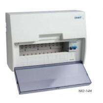 CHINT NX2-14M Consumer Unit, 14 Way c/w Isolator