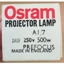 Osram A1/7, Projector Lamp, 250V 500W