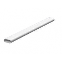 Mita OVL20W Oval Conduit 3m x 20mm White