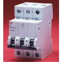 Wylex PSB306-C 6A Three pole MCB C curve 10kA