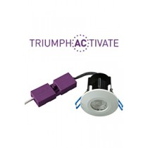 Robus RATR8P04038-01 Triumpth Activate™ 8W 38Deg LED Downlights 4000K IP65 Dimmable