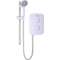 Redring RPS8 Pure 8.5kW Instantaneous Electric Shower - 53531001 - Buy online or in store from John Cribb & Sons Ltd