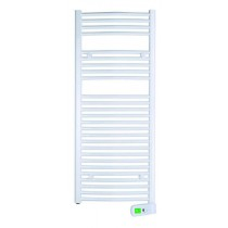 Rointe KYROS KTI050SEB2 500W White Digital Electric Towel Rail 1300mm x 500mm