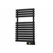 Rointe Delta Ultimate DTI030SEN 300W 230V Digital Electric Towel Rail 500mm x 855mm x 50mm Graphite