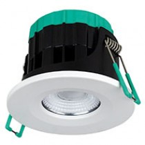 Robus RUL070WIFI-01 Ultimum Connect 7W IP65 WIFI Tunable Fire Rated Downlight with White Trim - Buy online and in store from John Cribb & Sons Ltd