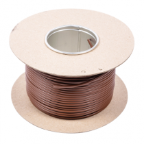 SBR3D Earth Sleeving 3mmx100m Brown PVC - Buy online or in store from John Cribb & Sons Ltd