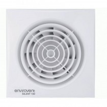 EnviroVent SIL150T Silent 150 Ultra Quiet Kitchen & Utility Extractor Fan  - Buy online or in store from John Cribb & Sons Ltd