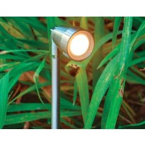 Collingwood SL030F LED Garden Spike Light 1W IP65 Stainless Steel
