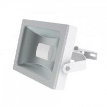 JCC Niteflood JC45120 LED Mains IP65 15W 120Deg 1100lm Floodlight 5700K White/Silver