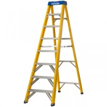 Werner 8 Tread Swingback Fibreglass Stepladder (74608)