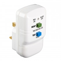 Thorsman 400940 White 13A In Line Re-wireable RCD Plug