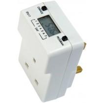 Timeguard ETU17 7 Day Slimline Digital Plug-In Time Controller