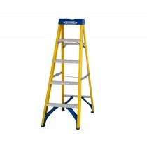 Werner 71605 5 Tread Swingback Fibreglass Stepladder