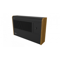 Dimplex WFE3BE 3kW Black Bluetooth Wall Fan Convector