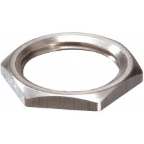 Wiska 10063141 EMMU 12 Nickel Plated Brass Locknut 12mm
