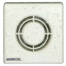 "Manrose XF100LV Low Voltage Extractor Fan 100mm (4"")"