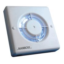 Manrose XF100PIR Wall/ Ceiling PIR Sensor Control Fan