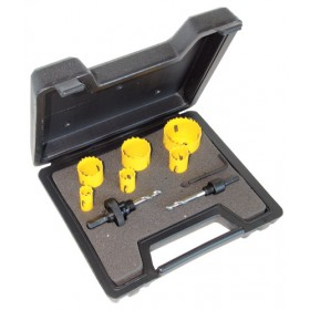 C.K. Tools Hole Saw Kit for Electricians 9 Piece