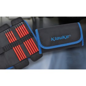 Klauke KL390TB9 Accessory Kit, 9 Piece VDE Blade Set in Roll Pouch