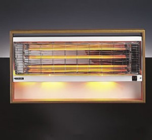 Dimplex 843S Studio Wall Mounted Radiant Fire