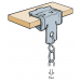 Walraven BC750 EM50020020 Britclips® 17-20x32x6.5mm Beam Clip for Flange 2 - 30mm- Buy online or in store from John Cribb & Sons Ltd
