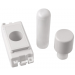 Scolmore GM050PW GridPro® 1 Module Dimmer Mounting Kit in White - Buy online or in store from John Cribb & Sons Ltd